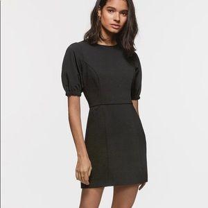 Greylin Paula crepe black dress
